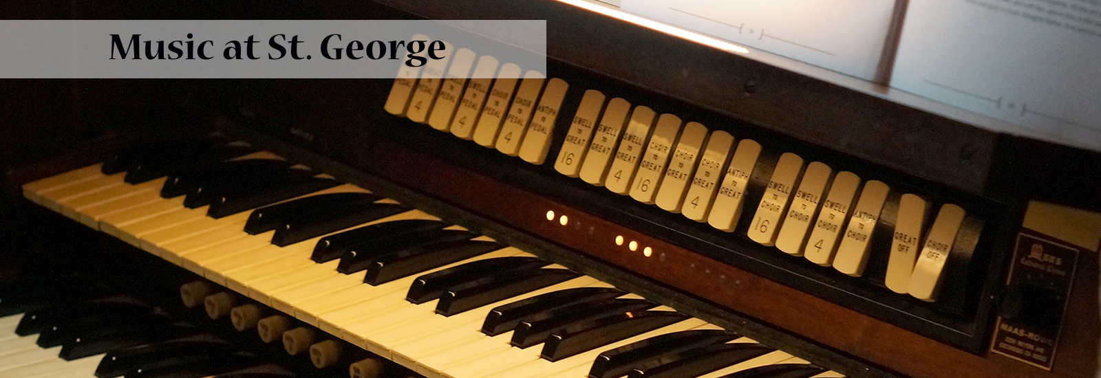 Sing A New Song - Welcome to St  George's